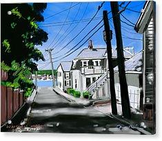 Winslow Street Acrylic Print