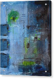 Acrylic Print featuring the painting Winter 2 by Nicole Nadeau