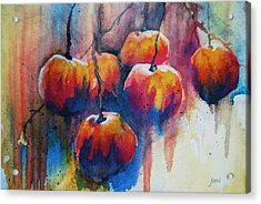 Winter Apples Acrylic Print