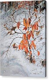Winter Ash Acrylic Print