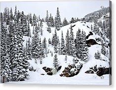 Winter At Bear Lake Acrylic Print