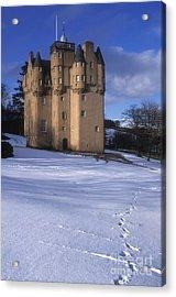 Winter At Craigievar Castle - Aberdeenshire Acrylic Print