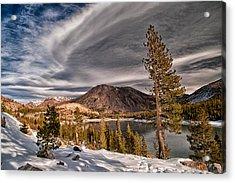 Winter At Ellery Lake Acrylic Print