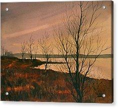 Winter At Lake Wilson Acrylic Print