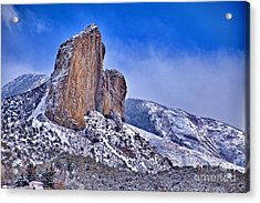 Winter At Needlerock Acrylic Print by Eric Rundle