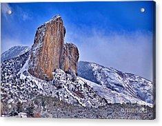 Winter At Needlerock Acrylic Print