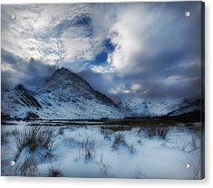 Winter At Tryfan Acrylic Print