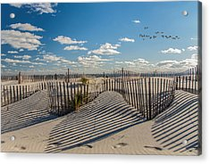 Winter Beach 9528 Acrylic Print