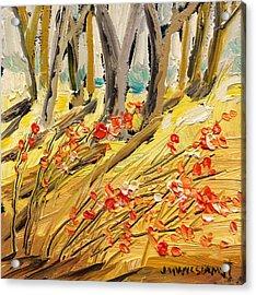 Winter Berries Acrylic Print by John Williams