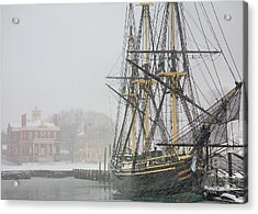 Winter Berth Acrylic Print