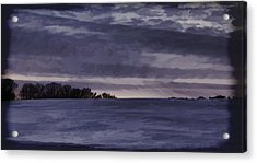 Winter Blues Acrylic Print by Thomas Young