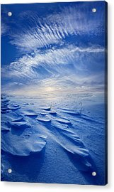 Winter Born Acrylic Print