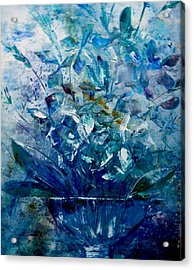 Winter Bouquet Acrylic Print by Lisa Kaiser