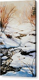Winter Break Acrylic Print by Hanne Lore Koehler