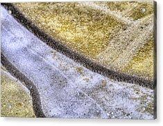 Winter Canals Acrylic Print by Paul W Sharpe Aka Wizard of Wonders