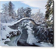 Winter - Carrbridge - Scotland Acrylic Print