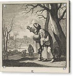 Winter, Caspar Luyken, Jan Luyken, Christoph Weigel Acrylic Print