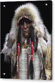Winter Chief Acrylic Print