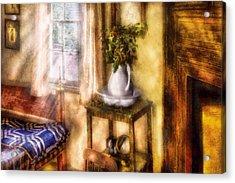 Winter - Christmas - Early Christmas Morning Acrylic Print by Mike Savad