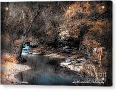 Winter Creek Acrylic Print