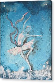 Winter Dancer1 Acrylic Print
