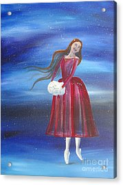 Winter Dancer3 Acrylic Print
