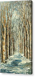 Winter Dreams Acrylic Print