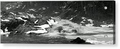 Winter Falls Acrylic Print