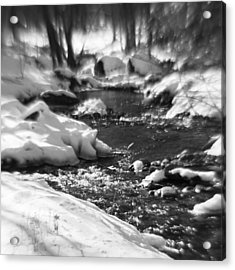 Winter Flow Acrylic Print