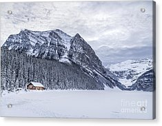 Winter Getaway Acrylic Print by Evelina Kremsdorf
