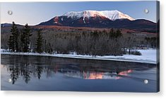 Acrylic Print featuring the photograph Winter Glow by Patrick Downey
