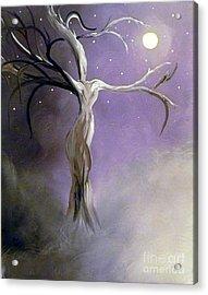 Winter Goddess II Acrylic Print by Alys Caviness-Gober