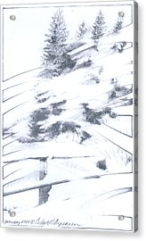 Winter Harvest Acrylic Print by Ceilon Aspensen
