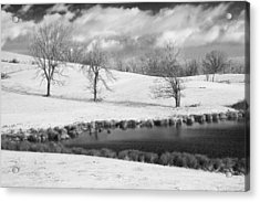 Acrylic Print featuring the photograph Winter In Kentucky by Wendell Thompson
