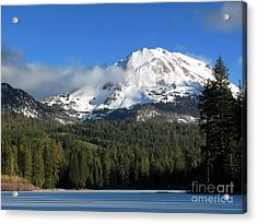 Winter In Lassen National Park Acrylic Print