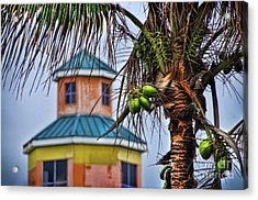 Winter In Nassau Acrylic Print by Alexandra Jordankova