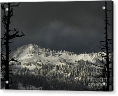 Acrylic Print featuring the photograph Winter In North Cascades by Yulia Kazansky