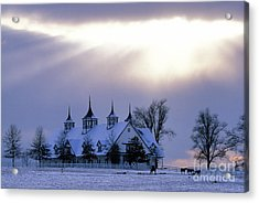 Winter In The Bluegrass - Fs000286 Acrylic Print