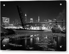 Winter In The Cleveland Fats Acrylic Print