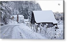 Winter In Virginia Acrylic Print