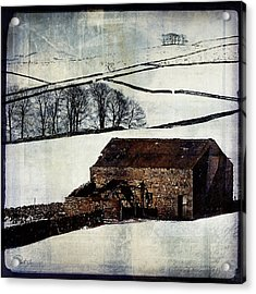 Winter Landscape 1 Acrylic Print by Mark Preston