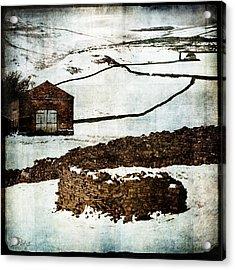 Winter Landscape 2 Acrylic Print by Mark Preston