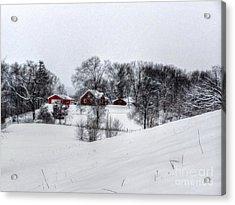 Winter Landscape 5 Acrylic Print