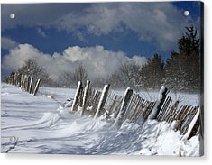 Winter Acrylic Print by Lepercq Veronique