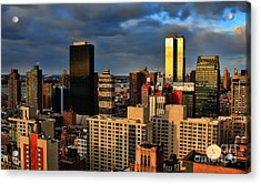 Winter Light In New York Acrylic Print