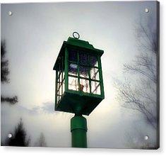 Winter Light Acrylic Print by J Allen