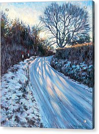 Winter Light Acrylic Print by Tilly Willis