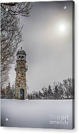 Winter Lighthouse Acrylic Print