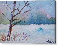 Winter Loneliness Acrylic Print
