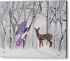 Winter Magic Acrylic Print